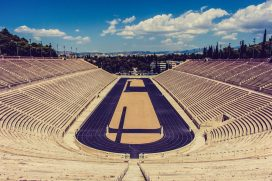 myathenian Athens Greece Panathenaic Stadium