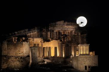 Myathenian supermoon
