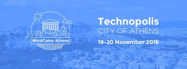 My athenian Wordcamp Athens 2016 WCAth2016