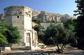 My athenian The famous Horologium of Andronicus Kyrristou building of the end of the 1st century. BC