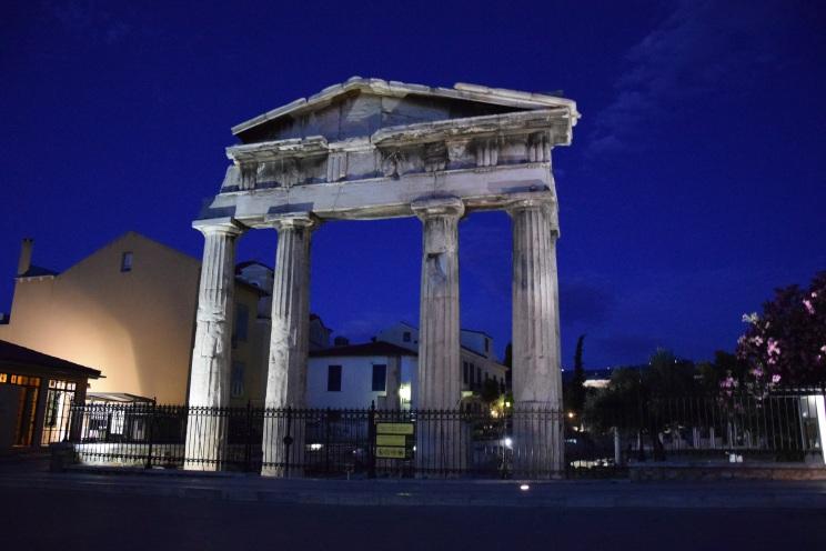 Athens by night myathenian